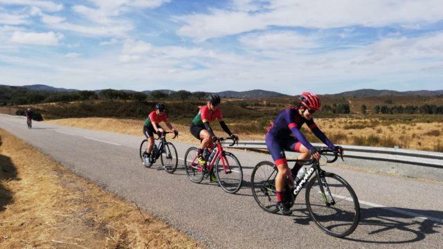 Iniciantes no ciclismo de estrada